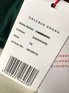 ORLEBAR BROWN DANE Shorts, Sherwood green - Leisure - Swimming - Unlined