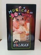 Disney Dolmax Musical Wind up Doll With Moving head.
