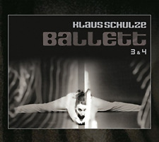 Klaus Schulze-Ballet 3 & 4  -2Cd-  (UK IMPORT)  CD NEW