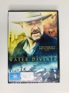 The Water Diviner DVD Region 4 Russell Crow Drama NEW UNOPENED