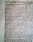 Historic GETTYSBURG ADDRESS Abraham Lincoln's Speech 1863 Civil War Newspaper
