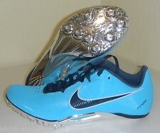 New Nike Zoom Ja Fly Track Shoes Spikes Size 15 Gamma Blue Navy Silver