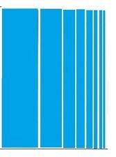 1M BLUE Heat shrink tubing,30mm diameter,electrical,car,wiring.2:1 shrink ratio