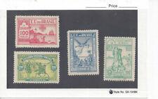 BRAZIL 1900 MNH Anniversary Set (Sc 162-65). Very fresh; no tropical stain.