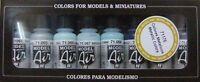 VAL71176   Model Air Set - Metallic Colors VALLEJO
