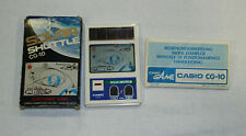 Casio cg-10 solar Shuttle electronic game japón con caja manual + Top rar