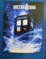 Dr Who TARDIS Police Call Box BBC British Television Doctor Plush Throw Blanket