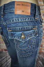 New True Religion Men`s Rocco Distressed Relaxed Skinny Fit Jeans Sz 30x34
