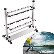 Espositore per canne da pesca Rack di stoccaggio 24 capacità / Fishing Rod Stand