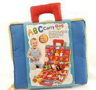 Внешний вид - ABC Carry Bag Set 26 Lettered Pockets For Alphabet Reading Matching Spelling