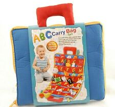 ABC Carry Bag Set Alphabet, Reading, Matching and Spelling 26 Lettered Pockets