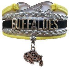 Colorado University Buffaloes College Infinity Bracelet Jewelry Apparel