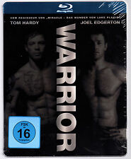 WARRIOR BLU-RAY STEELBOOK NEU & OVP SEALED TOM HARDY