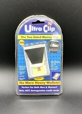 New In Package Ultra 2 Sided Money Clip Unisex Thin Does Not Demagnetize Cards