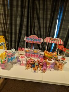 Barbie And Friends Food Court Custom