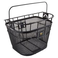 Topeak Handlebar Black Front Bike Basket - 16 Liter Capacity With Quick Release
