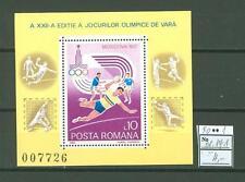 MTA1167 Romania 1980 MNH s/s Olympic Sport Handball CV 4 eur