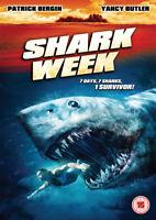 Shark Week DVD (2013) Patrick Bergin, Ray (DIR) cert 15 ***NEW*** Amazing Value