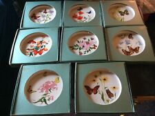 Lenox china Butterflies & Flowers collector plates -Entire Series- 8 plates