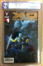 X-O Manowar #1 Gold Valiant Comics 9.6 NM+ PGX like cgc new series