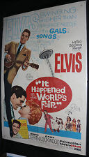 It Happened at the World's Fair Movie Poster - Elvis Presley (C-7) 1969