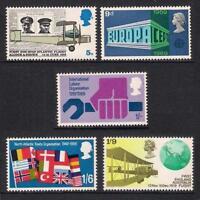 GB 1969 Commemorative Stamps~Anniversaries~Unmounted Mint Set~UK Seller