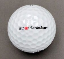sportradar Logo Golf Ball (1) Titleist Tour Soft Preowned