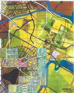 Jerry's Map Original Panel N12/W16 Gen VIII Collectible Fantasy Map Art!
