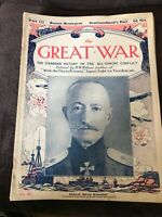 Early Vintage WW1 Magazine - The Great War - Issue / Part 112 October 7th 1916