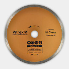 Vitrex 103406 Diamond Blade 180mm Hi-Glaze