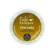 cafe escapes chai latte keurig k-cups 96 count -FREE SHIPPING