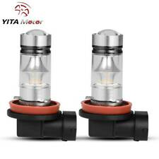 YITAMOTOR H11 H8 H16 High Power 100W LED Fog Light Driving Bulbs 6000K White 2x