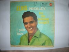 ELVIS PRESLEY-ARE YOU LONESOME TO-NIGHT?-I GOTTA KNOW-RCA 45 N 1140-ITALY
