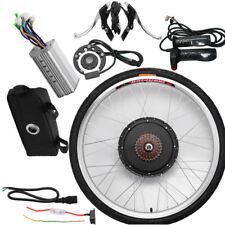"48V Electric Bicycle E-Bike 26"" Front Wheel Conversion Kit Cycling Motor"