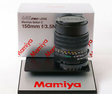 Mamiya Sekor C 645 150 mm f3.5 N objectivement pour Pro TL Super m645 1000 S NEW