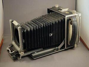 Vintage LINHOF SUPER TECHNIKA III 4x5 with three lenses