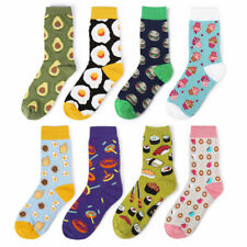 Men Women Cotton Socks Size7-12 Funky Colourful Sox Novelty Casual Sushi Avocado