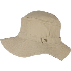 New Mens Ladies Sun Hat Roll Up Bucket Summer Fishing Festival Beach Cotton Cap