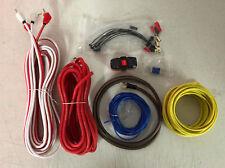 1500 W complet 8 Gauge Voiture Ampli Vibe Amplificateur Câble Caisson De Basse Câblage Kit CL 8 AWKT