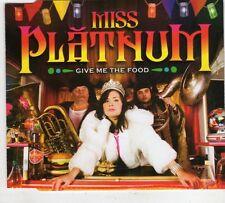 (GX620) Miss Platnum, Give Me The Food - 2007 DJ CD