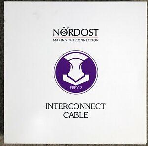 Nordost Frey 2 XLR 1 meter interconnects $1609 list price