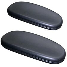 Office Chair Arm Pads Soft and Durable Complete Set of 2 With Attachment Screws