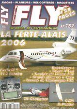 FLY N°137 PLAN : SCOUYOU 2 / FUTABA T12 / AT 6 HARVARD DE GRAUPNER / SPIRIT 3D