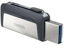 SanDisk 256GB Ultra Dual USB TYPE-C 256G USB 3.1 Pen Drive SDDDC2-256G