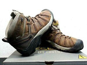 Keen Men's Size 10.5 D Cody WP Soft Toe Waterproof Brown Hiking Boots 1021358D