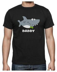 Shark Shirt for Dad Father's Day Family Daddy T-Shirt