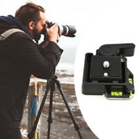 Tripod Quick Release Plate Mount Base Camcorder Adapter Mount for DSLR Camera 1