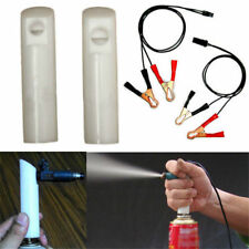 Vehicle Fuel Injector Flush Cleaner Adapter DIY Kit Cleaning Tool with 2* Nozzle