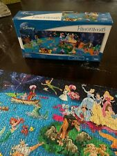 Disney Panoramas 750 Piece Puzzle Mega Brand Use Once