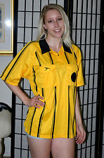 Score soccer officials referee jersey shirt - Yellow - Large